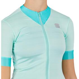 Sportful Kelly Short Sleeve Jersey Women, acqua green